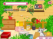 Флеш игра онлайн Cute Hungry Cat
