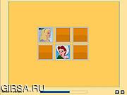 Флеш игра онлайн Принцессы / Cute Princess Memory