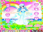 Флеш игра онлайн Милашка Фея / Cutie Fairy's Wedding Dress