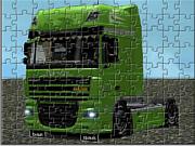 Флеш игра онлайн Тягач / Daf Tractor Truck