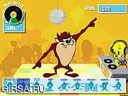 Флеш игра онлайн Танцевальная лихорадка таза