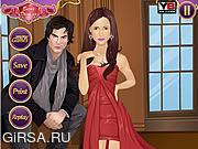 Флеш игра онлайн Свидание вампиров / Dating a Vampire: Damon