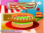 Флеш игра онлайн декора вашего хот-дога / Decor your Hot dog