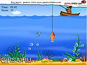 Флеш игра онлайн Рыбалка в Глубоком Море