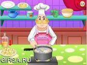 Флеш игра онлайн Вкусный овощной суп / Delicious Minestrone Soup