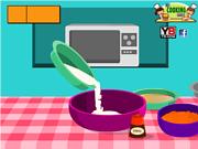 Флеш игра онлайн Морковный пирог / Delight Carrot Cake