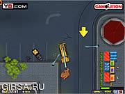 Флеш игра онлайн Demolition Crane Parking