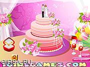 Флеш игра онлайн Идеальный Дизайн для свадебного торта / Design Perfect Wedding Cakes