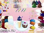 Флеш игра онлайн Супер десерт Dooper люкс