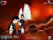 Флеш игра онлайн Поцелуи дьявола