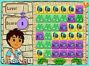 Флеш игра онлайн Диего Пазл Пирамида / Diego's Puzzle Pyramid
