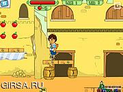 Флеш игра онлайн Приключения Диего - Добыть Кристал / Diego Crystal Adventure