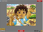 Флеш игра онлайн Диего. Пазл / Diego Puzzle