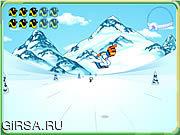 Флеш игра онлайн Диего на сноуборде