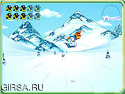 Флеш игра онлайн Go Diego Go - Snowboard Rescue