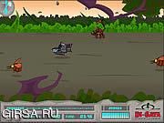 Флеш игра онлайн Di-Gata Defenders