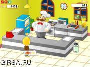Флеш игра онлайн Шеф-повар готовит обед 2