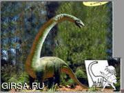 Флеш игра онлайн Dino Paint