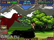 Флеш игра онлайн Динозавры в Панике / Dino Panic