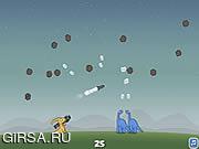 Флеш игра онлайн Динозавры и метеоры