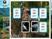 Флеш игра онлайн Подбери пару - Динозавры / Dinosaurs Memory Challenge