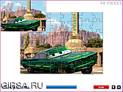 Флеш игра онлайн Диснеевские машины / Disney Cars Jigsaw