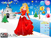 Флеш игра онлайн Disney Princess Christmas