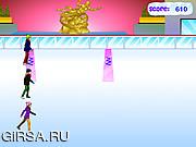 Флеш игра онлайн Фигурное катание / DM Ice Skating Competition