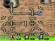 Флеш игра онлайн Трубопровод Догвиль / Dogville Pipeline