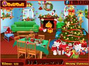 Флеш игра онлайн Найти предметы - Санта / Doli Christmas Time