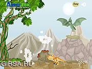 Флеш игра онлайн Donald The Dino