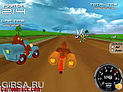 Флеш игра онлайн Donkey Kong Bike 3D