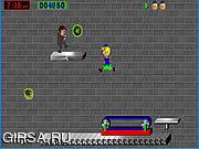 Флеш игра онлайн Пончик Мальчик / Donut Boy