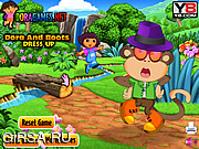 Флеш игра онлайн Dora and Boots Dress Up