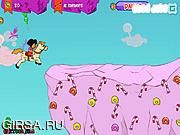 Флеш игра онлайн Дора и единорог / Dora And Unicorn