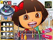 Флеш игра онлайн Даша у стамотолога / Dora At Dentist