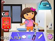 Флеш игра онлайн Даша у врача