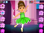 Флеш игра онлайн Дора и балет / Dora Ballet Dress Up Game