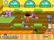 Флеш игра онлайн Ужин Даши / Dora Diner