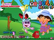 Флеш игра онлайн Дора и приключения / Dora Dress Up
