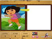 Флеш игра онлайн Даша и пиксели / Dora Pixel Pixing