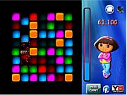 Флеш игра онлайн Даша и космическое пространство / Dora Space Gems