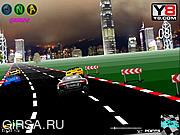 Флеш игра онлайн Городской гонщик / Downtown Racer