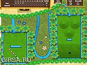 Флеш игра онлайн Гольф