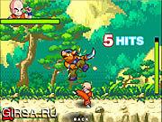 Флеш игра онлайн Драгонбол 2 / Dragon Ball fighting 2