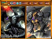 Флеш игра онлайн Дракон