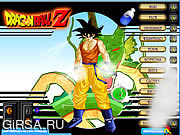 Флеш игра онлайн Dragonball Z Dress Up