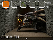 Флеш игра онлайн Dragons Treasure Escape
