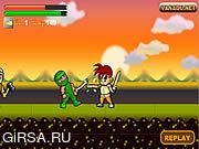 Флеш игра онлайн Dragon Sword