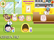 Флеш игра онлайн Др. Бульдог Любимчик Стационар / Dr. Bulldogs Pet Hospital